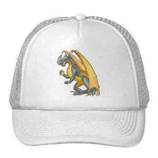 Fire Breathing Dragon Cap Mesh Hats