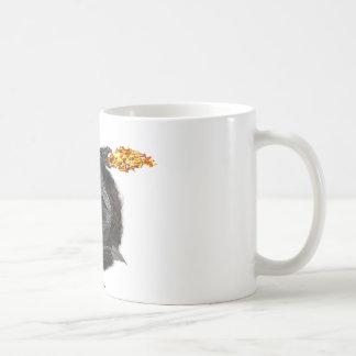 Fire-Breathing Dragon Coffee Mug