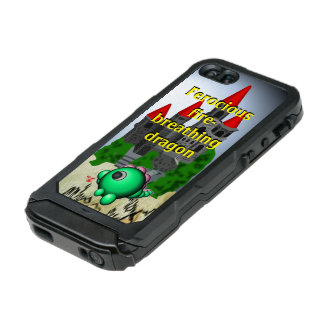Fire-breathing dragon incipio ATLAS ID™ iPhone 5 case