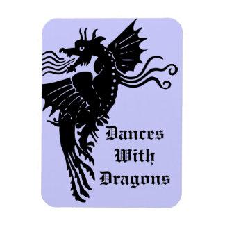Fire Breathing Dragon Magnet