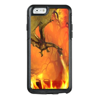 Fire Breathing Dragon Otterbox Iphone 6s Case by DizzyDebbie at Zazzle