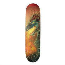 Fire Breathing Dragon Skateboard