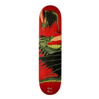 Fire Breathing Dragon Custom Skateboard