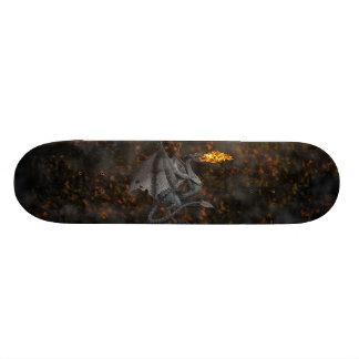Fire-Breathing Dragon Skateboard Deck
