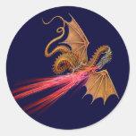 Fire breathing dragon - Sticker