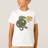 Fire Breathing Dragon T-Shirt