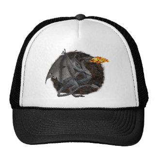 Fire-Breathing Dragon Trucker Hat