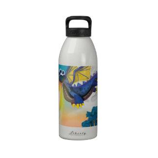 Fire Breathing Dragon Reusable Water Bottle