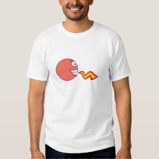 Fire Breathing Smiley Face T-Shirt