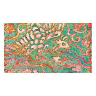 Fire-Breathing Southwest Desert Dragons Business Card