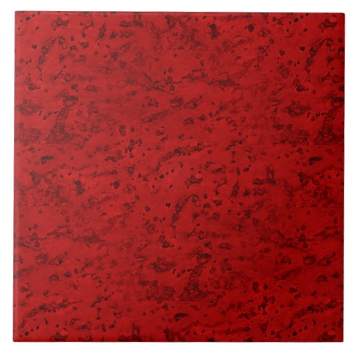 Fire brick red cork look wood grain ceramic tile zazzle for Cork flooring wood grain look