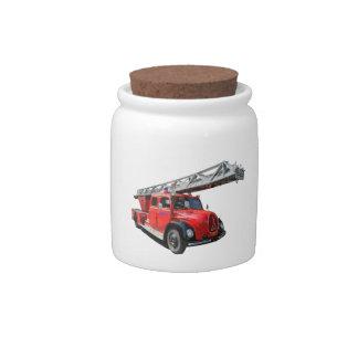 Fire-brigade Candy Jar