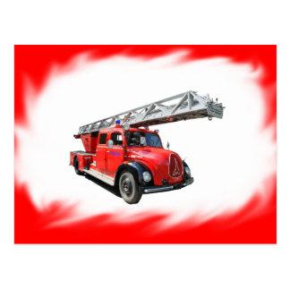Fire-brigade postcard