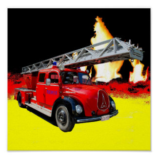 Fire-brigade Poster