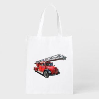 Fire-brigade Reusable Grocery Bag