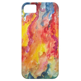 FIRE!  Bright Abstract design iPhone 5 case