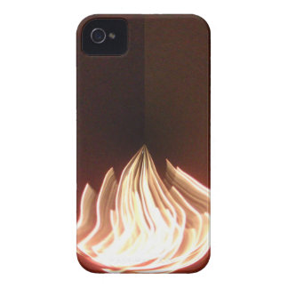 Fire Burning Hakuna Matata in Life.png iPhone 4 Cases