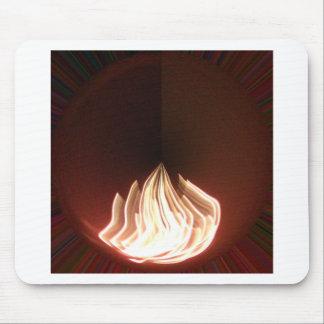 Fire Burning Hakuna Matata in Life.png Mouse Pad