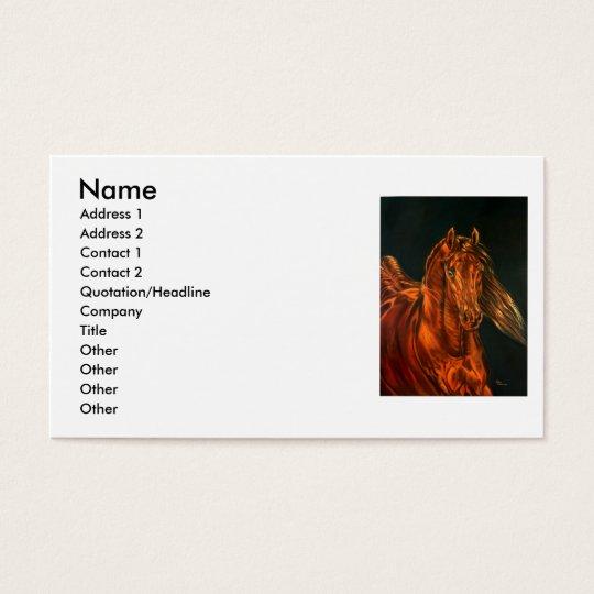 Fire Business Card
