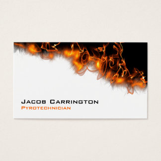 Fire! Business Card