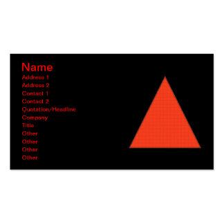 Fire Business Card Template