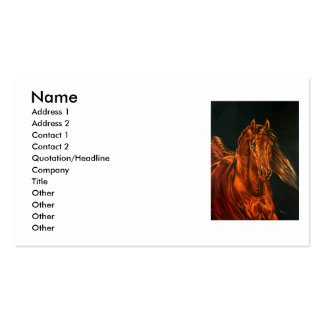 Fire Business Card Templates