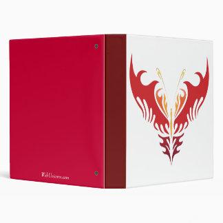 fire butterfly vinyl binder