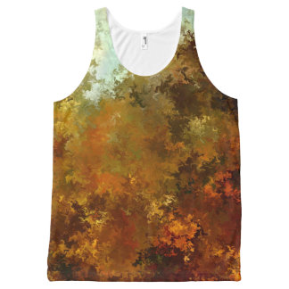 Fire by rafi talby All-Over print tank top