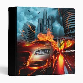 Fire Car Fantasy Binder