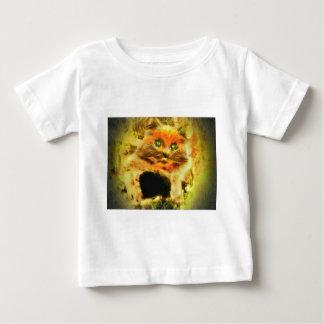Fire Cat Baby T-Shirt