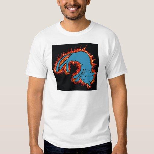 Fire Cat T Shirt