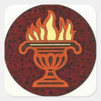 Fire cauldron stickers