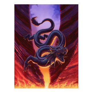 """Fire Cavern"" Postcard"