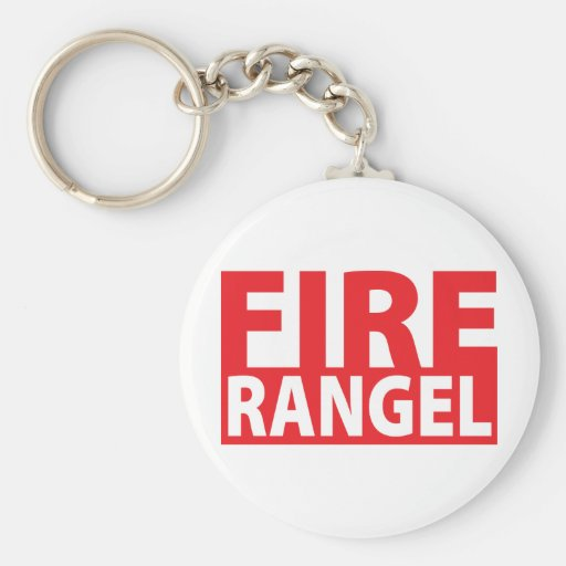 Fire Charles Rangel Key Chains