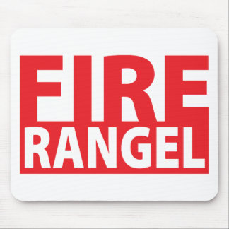 Fire Charles Rangel Mouse Pad