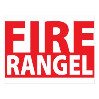 Fire Charles Rangel Postcard