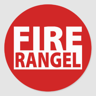 Fire Charles Rangel Stickers