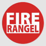 Fire Charles Rangel Stickers