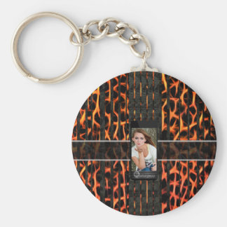 Fire Cheetah Replace The Image Keychain