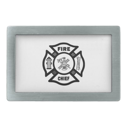 Fire Chief Belt Buckle
