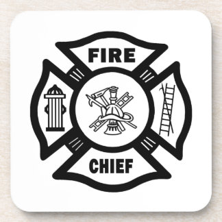 Fire Chief Beverage Coasters
