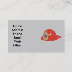 Fire Chief Business Cards Arts Arts