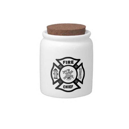 Fire Chief Candy Dishes