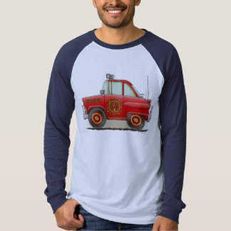 Fire Chief Car Adult Shirt