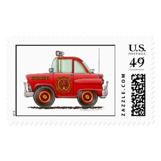 Fire Chief Car Stamps