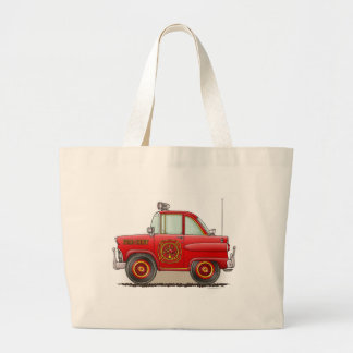 Fire Chief Car Tote Bag