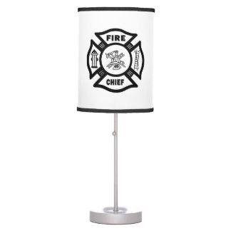Fire Chief Desk Lamp