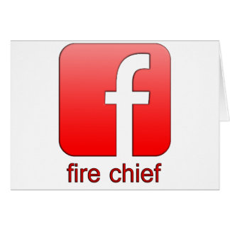 Fire Chief Facebook Logo Unique Gift Template