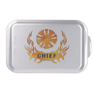 Fire Chief Flames Cake Pan