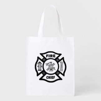 Fire Chief Grocery Bag